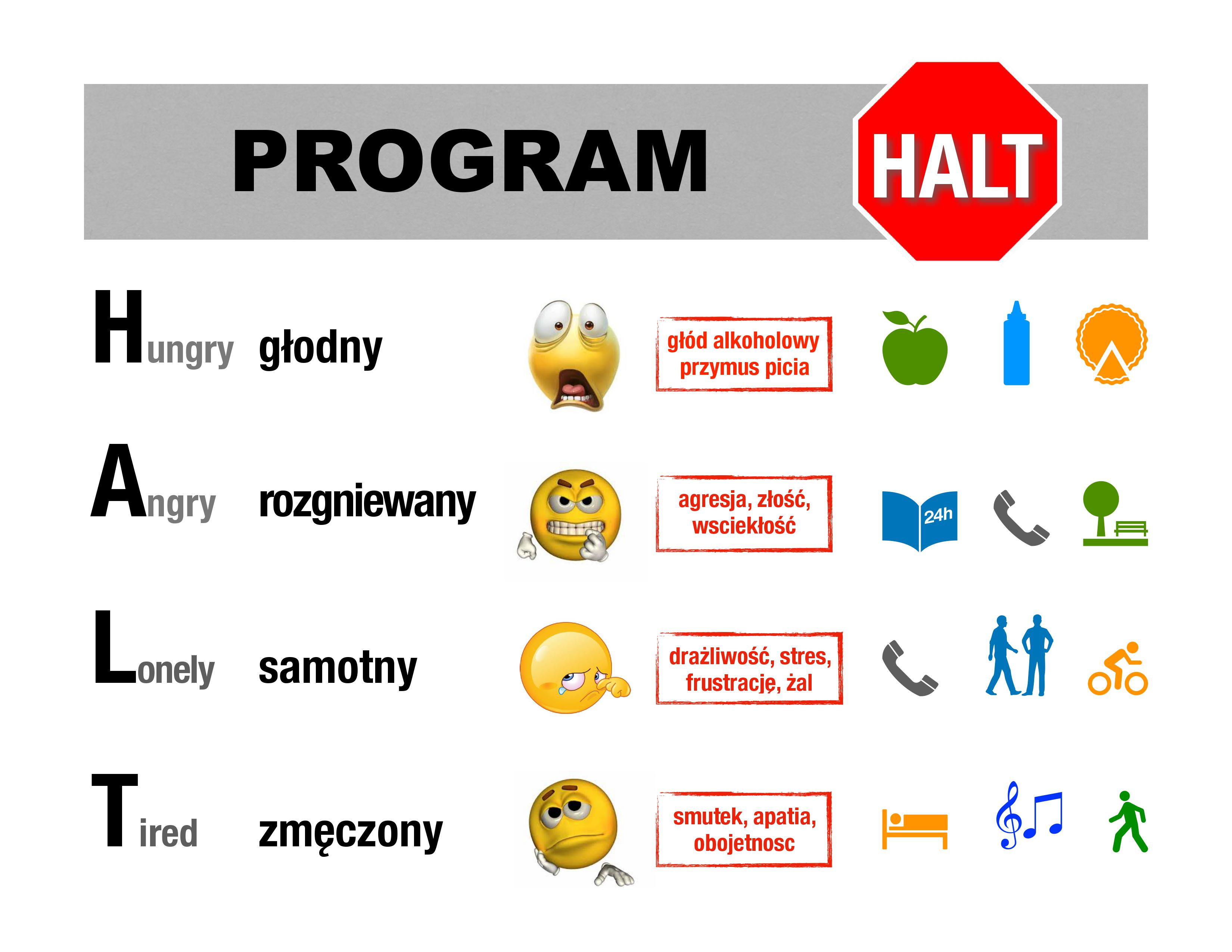 program HALT