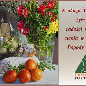 Zdrowych i spokojnych Świąt Wielkanocnych!